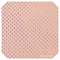 Pink with Fine Embossed Gold Dots Leatherette Sheet - A4 Faux Leather Fabric