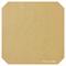 Khaki Leatherette Sheet - A4 Size Khaki Faux Leather Fabric