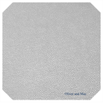Silver Leatherette Sheet - A4 Size Silver Faux Leather Fabric Sheet