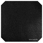 Black Leatherette Sheet - A4 Size Black Faux Leather Fabric Sheet