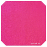 Fuchsia Pink Leatherette Sheet - A4 Size Blush Pink Faux Leather Fabric