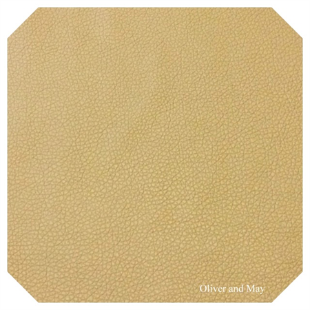 Khaki Leatherette Sheet - A4 Size Khaki Faux Leather Fabric