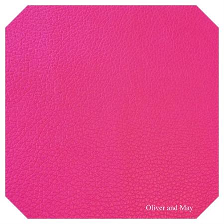 Fuchsia Pink Leatherette Sheet - A4 Size Blush Pink Faux Leather Fabric