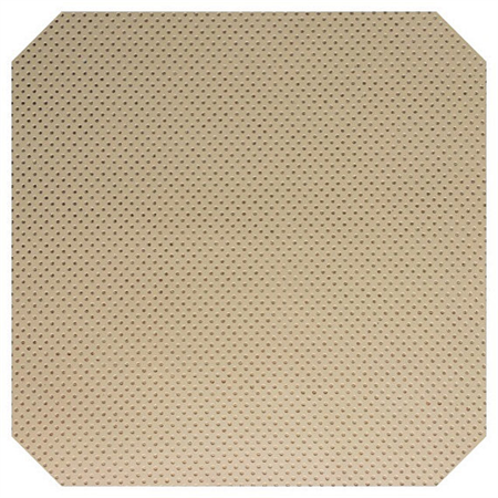 Ivory with Fine Embossed Gold Dots Leatherette Sheet - A4 Faux Leather Fabric