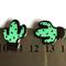 4pcs - Flatback Resin Cabochon Embellishment - Cactus