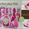 Bowling Pin & Ball sewing e-Pattern