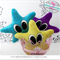 Starfish Baby Rattle PDF Sewing Pattern - Cute Easy To Make Baby Shower Gift