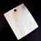 Large shell pendant - rectangular