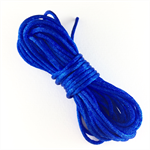 5 metres of cobalt blue satin cord