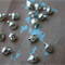 50 Petite Silver Jingly Bells ~ Cardmaking ~ Costume Making ~ Christmas Hats