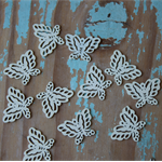 LAST ONES 11 Wooden Butterflies ~ Scrapbooking ~ Cardmaking ~ Craft