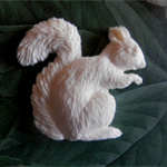 Resin Appliques... Forest Creatures.. Squirrel