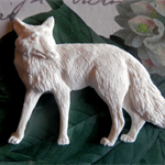 Resin Applique..Forest Creatures... Country Fox