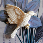 Resin Applique...Flying Bird