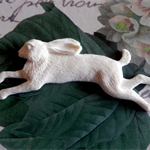 resin Applique.. Forest Creatures.. Wild Hare