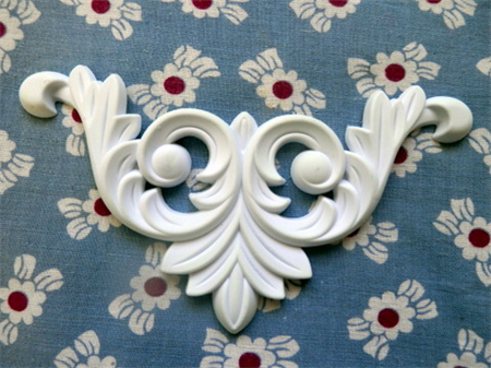 Flexible, Furniture Applique..Amelia