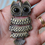 Owl Charm ~ DIY Crochet Necklace ~ Card-Making ~ Charm Pendant ~ Embellishment