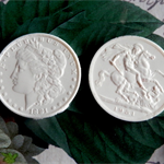 Resin Appliques: Coins