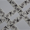 Grosgrain Ribbon Eiffel Tower print