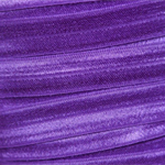 5 Metres Purple Soft Fold Over Elastic