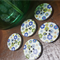 5 Large Wooden  Buttons