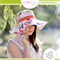 Womens Hat Pattern PDF Sewing Pattern Broad Brimmed Reversible Sun Hat