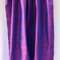 Pure Thai silk - shot handwoven handmade RED n COBALT BLUE - home decor, craft