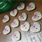 Heart Wooden Buttons  Pack of 10