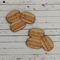 2 Large Macaron Shape Tiles