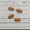 2 Pairs of Macaron Shape Tiles