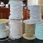 BULK BUY - Pearlised Strands of Beads - Sizes 2 - 3 - 4 - 6mm from $4.00