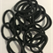 Hair elastics (20 black)