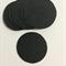 Felt circles 4cm (10) black