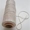 Metallic Silver Bakers Twine - 4 ply - 100% Cotton
