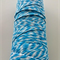 Bright Blue Twine - 4 ply - 100% Cotton