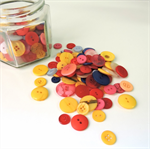 Buttons - assorted buttons - mixed button bag - perfect for crafting - approx 50