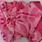 Batik Thai sarong, pareo beach wrap, handpainted fabric, RED PINK flowers