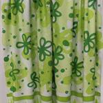 Batik beach Thai sarong pareo cover up wrap fabric GREEN flowers