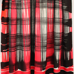 Batik beach Thai sarong pareo cover up wrap fabric BLACK GREY WHITE plaid