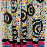 Batik beach Thai sarong pareo cover up wrap fabric MULTICOLOUR SPOTS circles