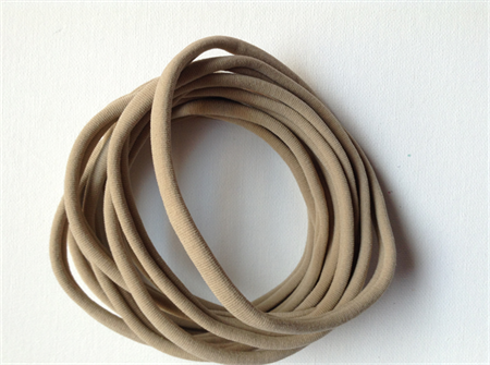 10 x nude nylon headbands