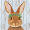 3 Paper Napkins for Decoupage / Parties / Weddings - Bunny Easter Rabbit