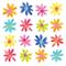 3 Paper Napkins for Decoupage / Parties / Weddings - Flowerfield