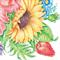 3 Paper Napkins for Decoupage / Parties / Weddings - Sunflower Garden