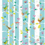 3 Paper Napkins for Decoupage / Parties / Weddings - Bird Tweets