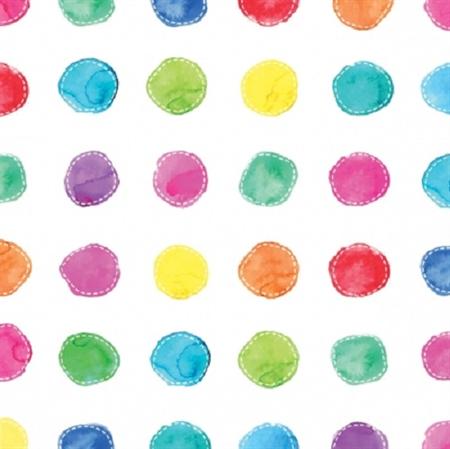 3 Paper Napkins for Decoupage / Parties / Weddings - Spots