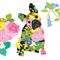 3 Paper Napkins for Decoupage / Parties / Weddings - Puppy Portrait