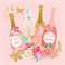 3 Paper Napkins for Decoupage / Parties / Weddings - Celebrating