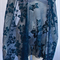 Gorgeous Ink Blue Lace, for formal or dance wear, shawl etc