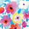 3 Paper Napkins for Decoupage / Parties / Weddings - Watercolour Floral